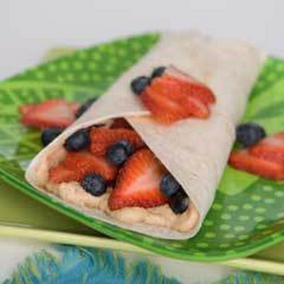 Fruit Burritos