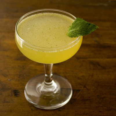 Cardamom and Mint Cocktail