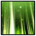 Illuminating wavy grass icon