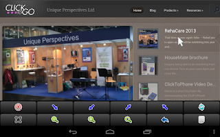 Screenshot of ClickToPhone