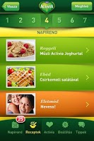 Screenshot of Activia VIP