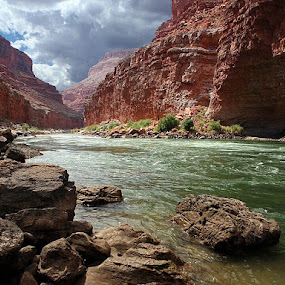 Grand Canyon National Park, Arizona by Ken Miller - Landscapes Waterscapes ( national park, colorado river, mountain, grand canyon national park, arizona, canyon, grand canyon, river,  )