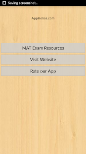 MAT Exam Guide - screenshot