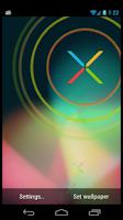 Screenshot of Nexus X Phone Live Wallpaper