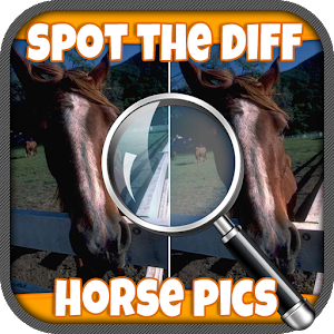FREE Spot The Difference Horse