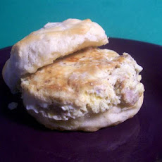 Big Breakfast Biscuit Sandwich