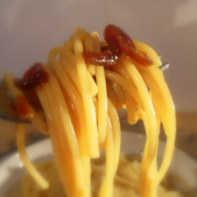 Spaghetti with Marmite