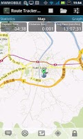 Screenshot of Route Tracker Pro