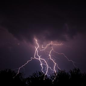 Discharged by Marc Rossmann - Landscapes Weather ( thunder, flash, strike, lightning, bolt, storm )