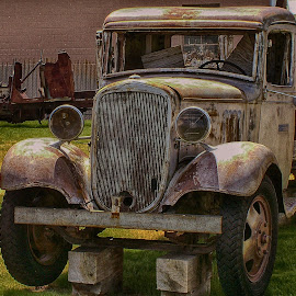 Old Truck by Jose Matutina - Transportation Automobiles ( old, truck, rusty, antique,  )