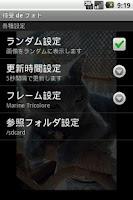 Screenshot of Photo Frame on Home Screen