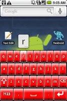 Screenshot of Better Keyboard Skin - Red