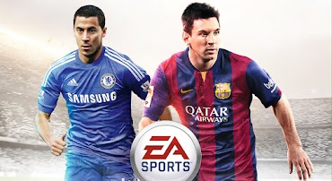 Eden Hazard joins Lionel Messi on the cover of FIFA 15