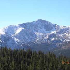 James Peak by Harry Klawitter - Novices Only Landscapes ( @12000', @ rawlins pass, james peak, tree line, @ russell gulch )