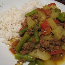 Pakistani Kima (Hamburger Curry)