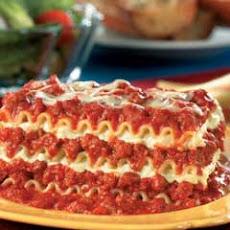 Easy Beef Lasagna (featuring Ragu 2 Lb. 13 Oz. Jar)