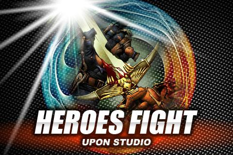 heroes-fight for android screenshot