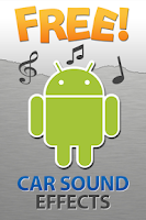 Screenshot of Car Sound Effects Free