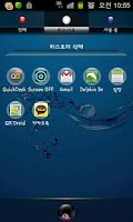 Screenshot of Bubble Theme GO Launcher EX