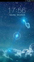 Screenshot of Starry Sky GO Locker Theme
