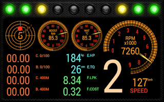 Screenshot of RacingMeter for Torque Pro
