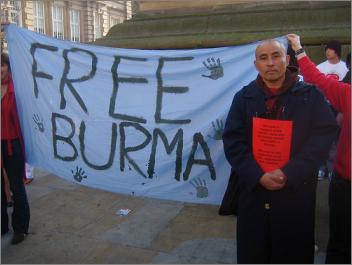 Burma Myanmar Free Demokratie Meinungsfreiheit