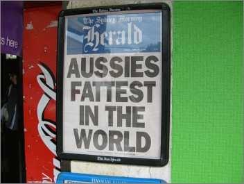 Fettabsaugung ist in Australien leider noch nicht verfügbar. Mit dramatischen Folgen