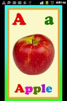 Screenshot of Kids EZ Fruits ABC Lite