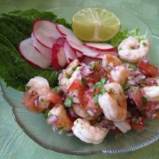 Yucatan-Style Shrimp - 3 Ww Points