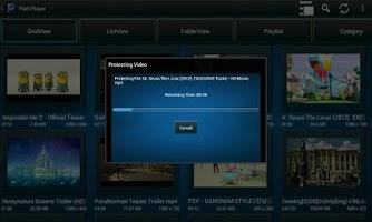 Screenshot of Path Player