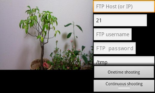 PhotoFtp - screenshot