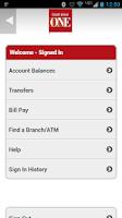 Screenshot of CUONE Mobile