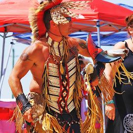 Native Pride by Allan Fritz - People Portraits of Men ( dancers, canada, native, pow wow, events, ontario, men )