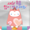 Secret owl(happy new year) icon