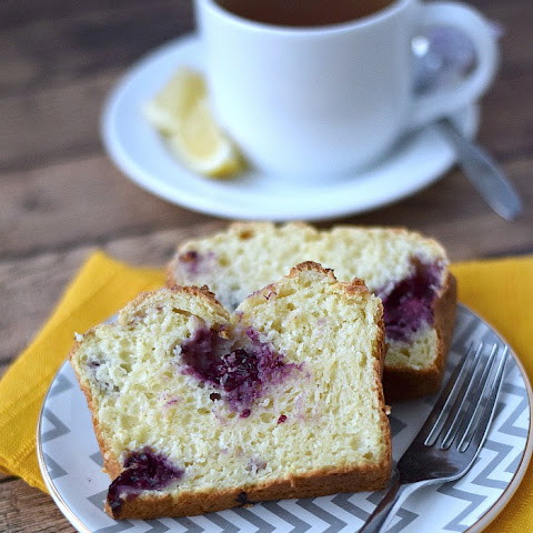 Lemon Blackberry Bread