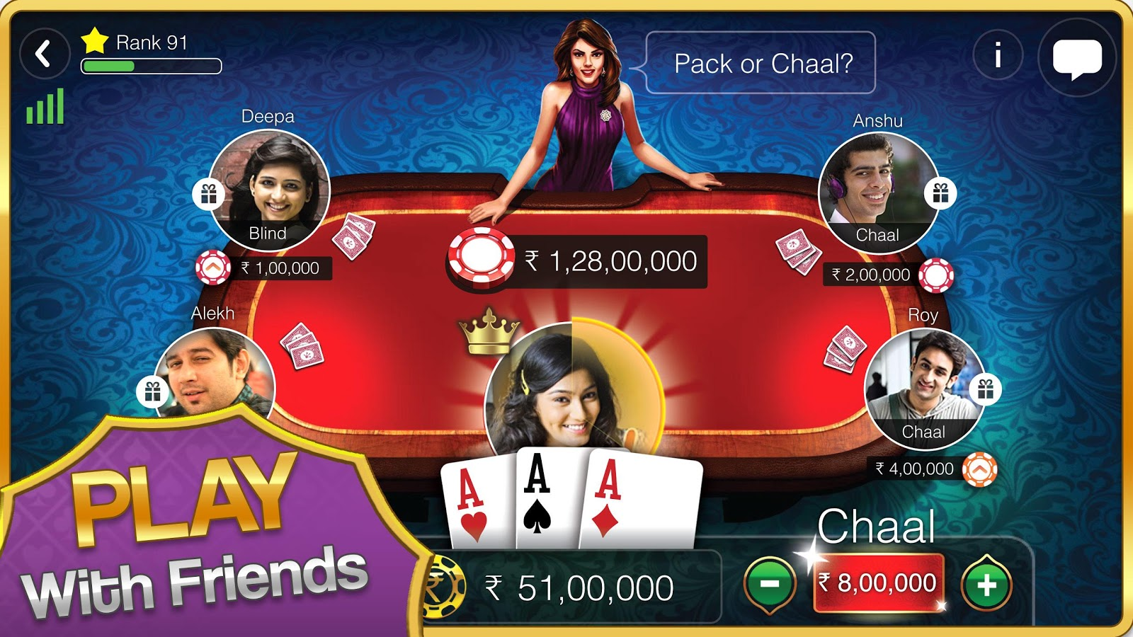 Teen Patti Gold Screenshot 0