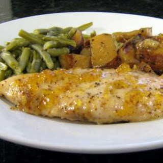 Peach Glazed Chicken Breasts