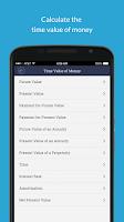 Screenshot of Valuation App