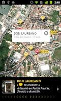 Screenshot of Páxinas Galegas