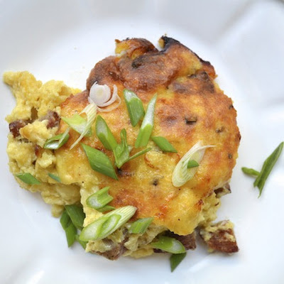 Sausage, Jalapeño, and Cheddar Spoonbread