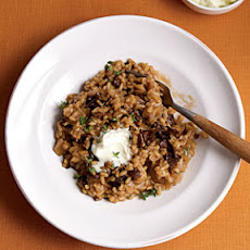 Risotto with Porcini Mushrooms and Mascarpone