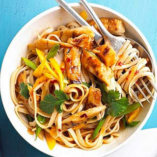 Sesame Chicken and Noodles