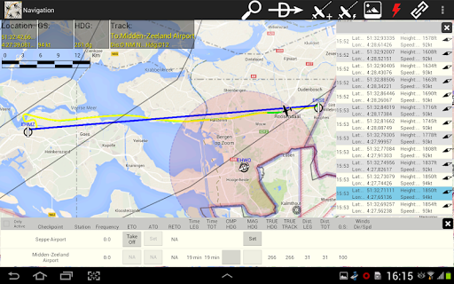 Flight Sim Planner - screenshot