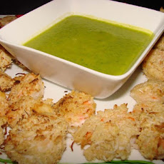 Coconut Lime Shrimp W/ Mango Jalapeno  Dipping Sauce
