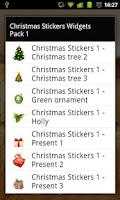Screenshot of Christmas Stickers Pack 1