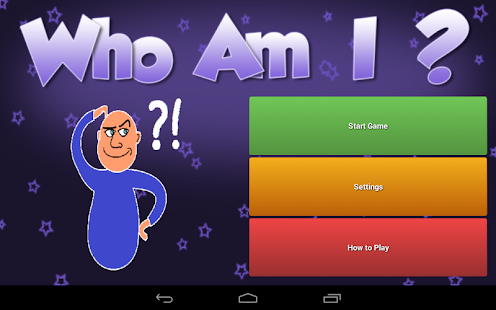 Who Am I? - screenshot