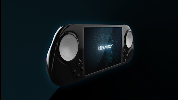 Steam Boy unveiled, the portable Steam Machine