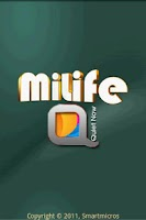 Screenshot of miLife QuietNow