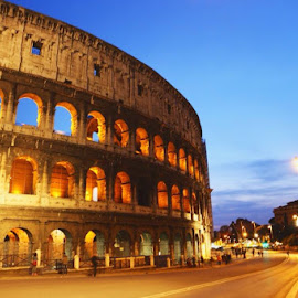 Colosseum at Rome by 少 棠 - Landscapes Travel