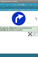 Screenshot of Patente auto e moto